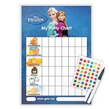 Elsa Potty Training Chart Frozen Potty Toilet Training Reward Chart Pen Free Star