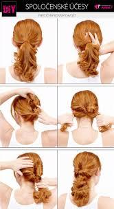 08 Diy Spolocensky Uces Pretoceny Konsky Chvost Vlasy A účesy