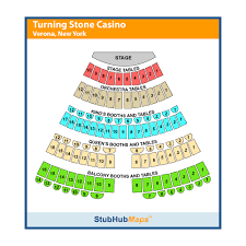 Turning Stone Casino Seating Chart Turning Stone Resort Casino Events And Concerts In Verona