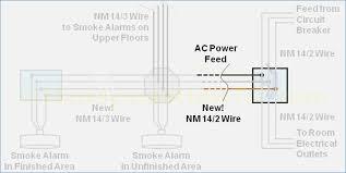 3 wire smoke detector wiring diagram buildabiz me Smoke Detector Electrical Wiring how to install a hardwired smoke alarm ac power and alarm wiring electrical integrating hard wired smoke detectors