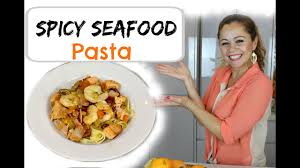 SPICY SEAFOOD PASTA RECIPE - YouTube