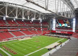 University Of Phoenix Stadium Glendale Az Seating Chart 25 All Inclusive Seating Chart Cardinals Stadium Glendale