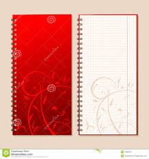 notebook cover and page design royalty stock images image notebook cover and page for your design royalty stock photography
