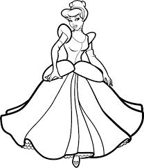 Princess cinderella coloring page printable. Printable Cinderella Coloring Pages Coloringme Com