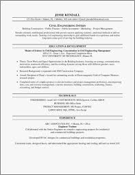 Engineering Internship Resume Professional Resume Templates