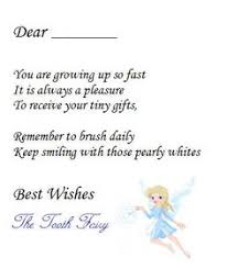 04eff6ecc6eec0db85fa6d270d82c130 letter from tooth fairy tooth fairy note
