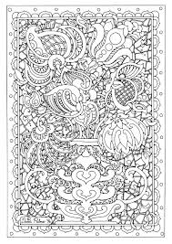 Detailed Flower Coloring Pages Christmas Dog Coloring Page 16058