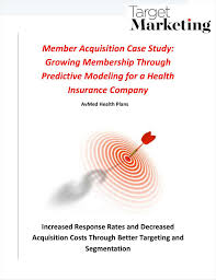 More than 340,000 members count on avmed for their health insurance coverage. Member Acquisition Case Study Growing Membership Through Predictive Modeling For A Health Insurance Company Paperpicks Leading Content Syndication And Distribution Platform