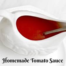 authentic italian homemade tomato sauce