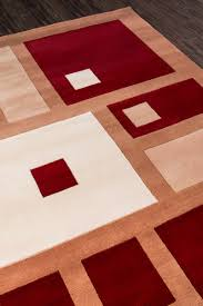 momeni new wave collection nw 50 red area rug