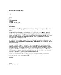 Proposal Letter For Sponsorship Sample For Event 79 Simple Proposal Letter For Sponsorship Sample For Event