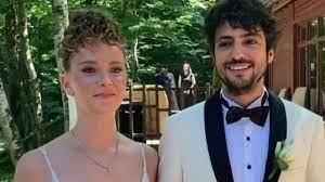 Taner Ölmez ile Ece Çeşmioğlu evlendi... İşte Taner Ölmez ile Ece Çeşmioğlu'nun  nikahından ilk fotoğraflar