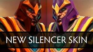 dota 2 new silencer skin side by side comparison youtube