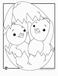 Easter Chick Coloring Pages Coloring Home For Chick Coloring Page