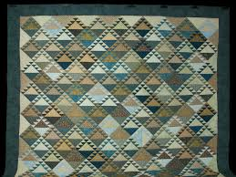 Lady of the Lake Quilt -- outstanding ably made Amish Quilts from ... & ... Blues and Tans Lady of the Lake Quilt King size bed Photo ... Adamdwight.com