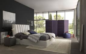 modern bedroom concepts: view in gallery bedroom with black color accent wall bozlan lovely