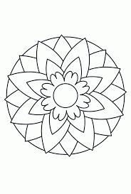 Goed Kleurplaten Mandala Makkelijk Kleurplaat 2019