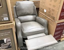 synergy home furnishings leather swivel glider recliner