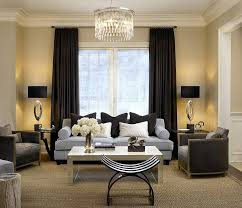 light color scheme of the living room complements the dark ds perfectly design handman