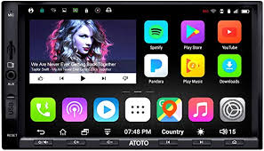 ATOTO A6 <b>Double Din Android</b> Car Navigation Stereo with Dual ...