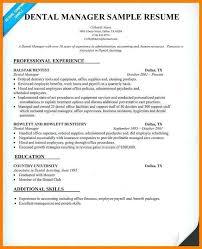 Dental Office Resumes 12 Dental Office Manager Resume Business Opportunity Program