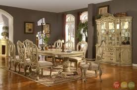 antique white formal dining room sets ideas