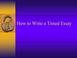 Short Essay On My Classroom How To Write In Class Essays Faster How To Write A