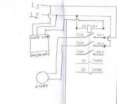 lighting contactor wiring diagram with photocell how does a mechanically held contactor work at Electrically Held Contactor Wiring Diagram