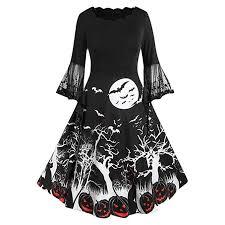 AMhomely Women Dresses Sale Hot, Women <b>Vintage</b> Long Sleeve ...