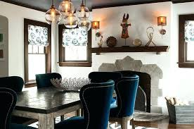 blue dining room set. Black Dining Room Table Chairs Add A Splash Of Blue To The Dreamy . Set N