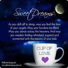 good night my dear es good night prayer es for her