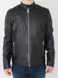 jaysee leather jacket black