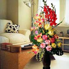 ... Large Vases For Flowers Large Floor Vase Decoration Ideas Artificial  Flower Arrangements In Tall Floor Standing ...