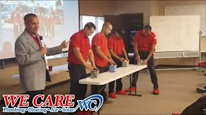 we care plumbing. Exellent Plumbing We Care Plumbing Heating Air And Solar  Tissue Pulling Contest To