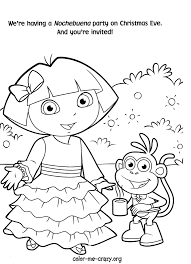 Cool Dora Coloring Pages Page 1