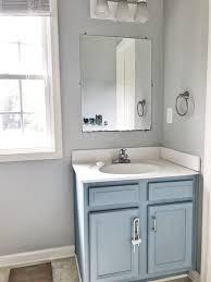 bathroom vanity completed transformed