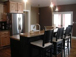 Rustic Kitchen Island Table Classic Rustic Kitchen Cabinets Design With Free Standing Tier