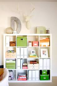 organize home office. talk about a great way to store the clutter image via me oh my organize home office