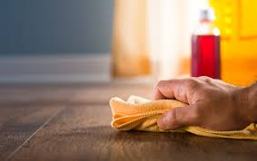sweeping with a broom is less effective but in a pinch this is still a good way to give your floor a daily cleaning