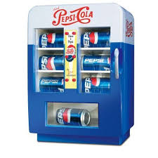 How To Hack Pepsi Vending Machines Magnificent Retro Pepsi Vending Fridge Amazon Vintagestyle Mini Pepsi