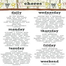 Household Chore Chart Household Chore Chart House Chore List Tileproject Within Chart Design