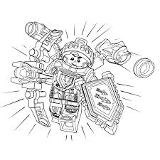 Small Picture Lego Nexo Knights ridder Aaron Coloring pages for kids
