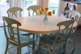 Refinishing A Kitchen Table Refinishing Dining Room Table Bettrpiccom