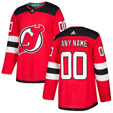 Home Customized New Cool Youth Jersey Nhl Premier Red Adidas Devils Jersey