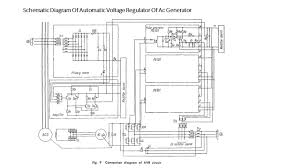 drawing the schematic diagram of automatic voltage regulators of tracing of panel wiring diagram of an alternator iti electrician on drawing the schematic diagram of ac voltage
