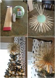 diy tree topper starburst tree topper unique tree toppers topper ideas with ribbon funny for diy tree topper
