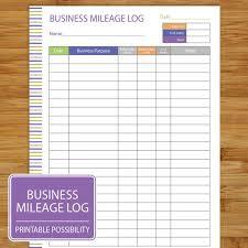 Mileage Tracker Sheet Mileage Log Template 08 Resume Samples