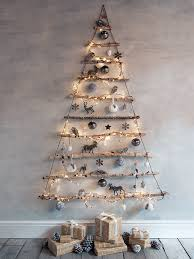 NEW Frosted Branches Hanging Tree  Christmas It Would Be Cute To Wooden Branch Christmas Tree