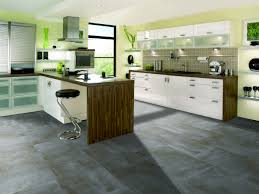 Polished Concrete Floor Kitchen Kitchen Floor Polished Concrete Flooring Red Acrylic Stools