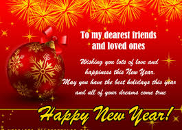 This list of 75 inspirational christmas card messages for family and friends will get you excited about sending your cards out this year. New Year Wishes For Friends Happy New Year Wishes Wishes For Friends New Year Wishes